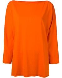 Maglione oversize arancione