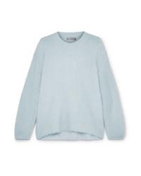 Maglione oversize azzurro