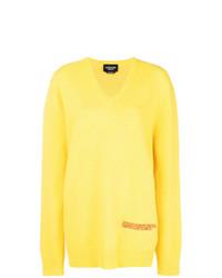 Maglione oversize giallo di Calvin Klein 205W39nyc