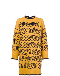 Maglione oversize giallo di Fendi