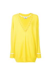 Maglione oversize giallo di Givenchy