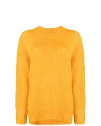 Maglione oversize giallo di Isabel Marant