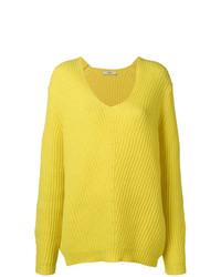 Maglione oversize giallo di Odeeh
