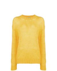Maglione oversize giallo di Prada