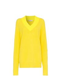 Maglione oversize giallo di Tibi
