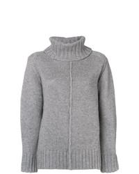 Maglione oversize lavorato a maglia grigio di Hemisphere