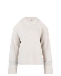Maglione oversize lavorato a maglia grigio di Stella McCartney