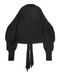 Maglione oversize nero di 16Arlington