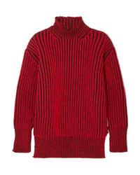 ... Maglione oversize rosso di Balenciaga 6c331860a6f8