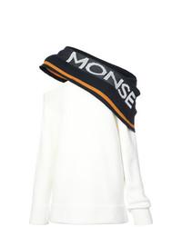 Maglione oversize stampato bianco e nero di Monse