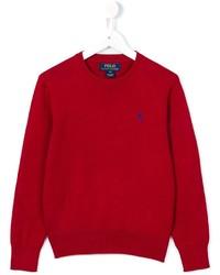 Maglione rosso di Ralph Lauren