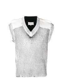 Maglione senza maniche grigio di Maison Margiela