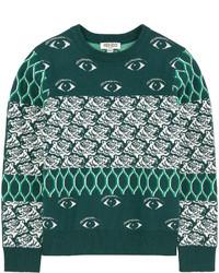Maglione verde scuro