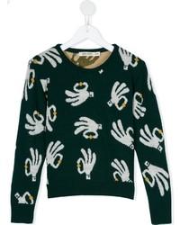 Maglione verde scuro di Bobo Choses