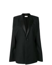 Mantello nero di Saint Laurent