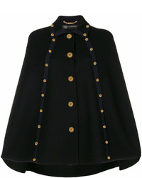 Mantello nero di Versace