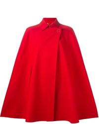 Mantello rosso di Versace