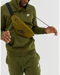 Marsupio di tela verde oliva di Nike
