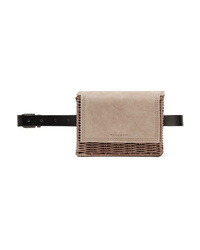Marsupio in pelle beige di Wicker Wings
