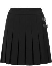 buy popular ae841 2b72b Minigonne di lana a pieghe nere da donna   Moda donna ...