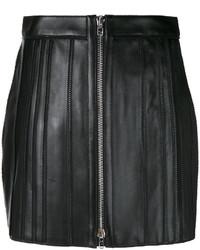 Minigonna in pelle nera di Givenchy