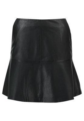 Minigonna in pelle nera di Sofie Schnoor