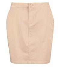 Minigonna marrone chiaro di Zalando Essentials