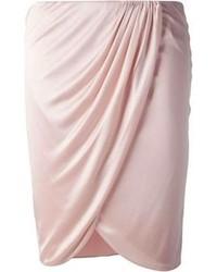 Minigonna rosa