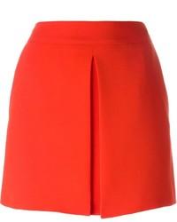 Minigonna rossa