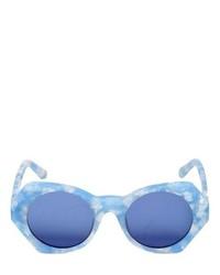 Occhiali da sole azzurri