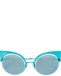 Occhiali da sole azzurri di Fendi