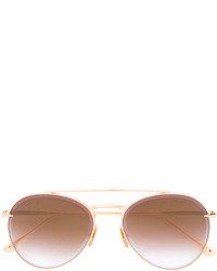Occhiali da sole dorati di Dita Eyewear