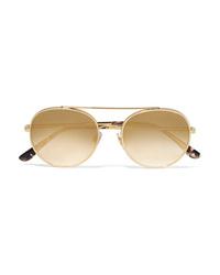 Occhiali da sole dorati di Dolce & Gabbana