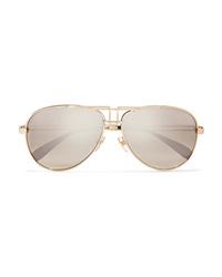 Occhiali da sole dorati di Givenchy