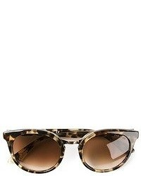 Occhiali da sole leopardati marrone scuro di Paul & Joe