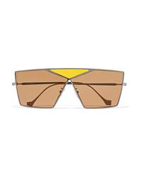 Occhiali da sole marrone chiaro di Loewe