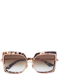 Occhiali da sole marroni di Dita Eyewear