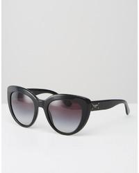 Occhiali da sole neri di Dolce & Gabbana