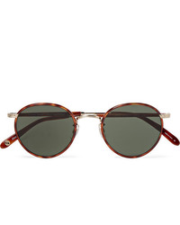 Occhiali da sole neri di Garrett Leight California Optical