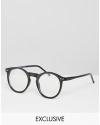 Occhiali da sole neri di Reclaimed Vintage
