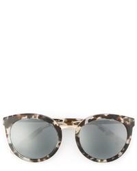 Occhiali da sole stampati grigi di Dolce & Gabbana