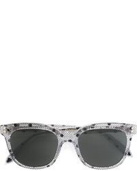 Occhiali da sole stampati grigio scuro di Victoria Beckham