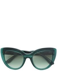 Occhiali da sole verde scuro di Dolce & Gabbana