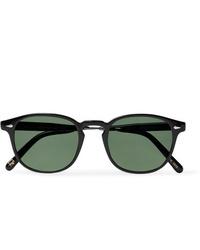 Occhiali da sole verde scuro di Moscot