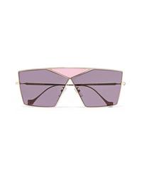 Occhiali da sole viola chiaro di Loewe