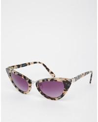 Occhiali da sole viola melanzana di Asos