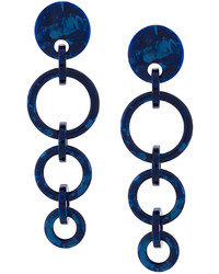 Orecchini blu scuro di Lele Sadoughi