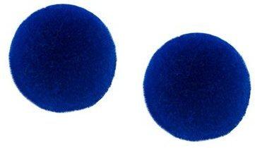 Orecchini blu scuro di MM6 MAISON MARGIELA