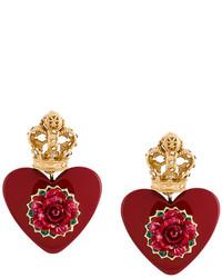 Orecchini rossi di Dolce & Gabbana