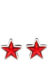 Orecchini rossi di Givenchy